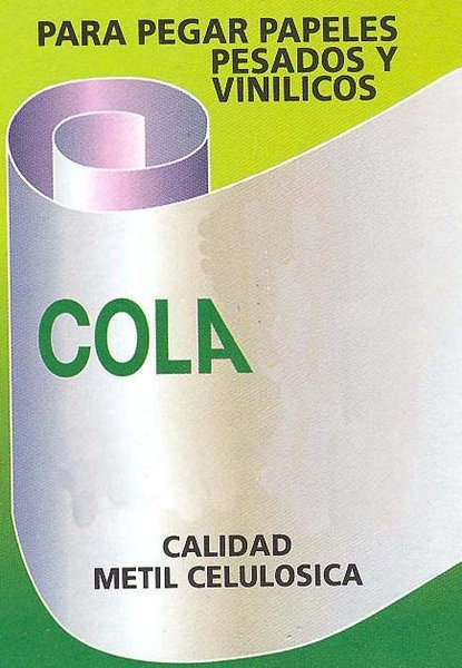 Cola metil celul sica 100 gr boutique del papel pintado for Papeles pintados vinilicos