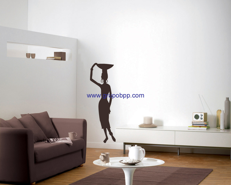 Autoadhesivo africana boutique del papel pintado for Papel pintado autoadhesivo