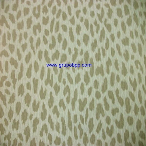 Papel pintado vin lico dibujo leopardo gris claro - Papel pintado vinilico ...