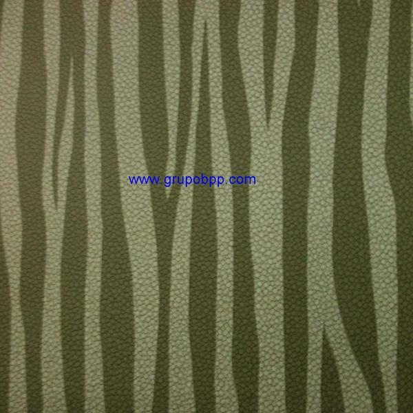 Papel pintado vin lico dibujo cebra tonos grises for Papel pintado cebra