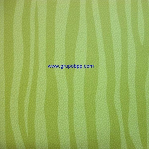 Papel pintado vin lico dibujo cebra verde pistacho for Papel pintado cebra