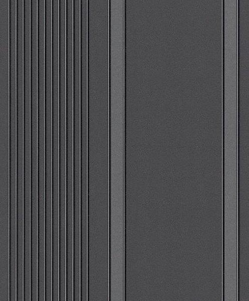 Papel pintado rayas irregulares gris y playa fondo negro - Papel pintado gris y plata ...