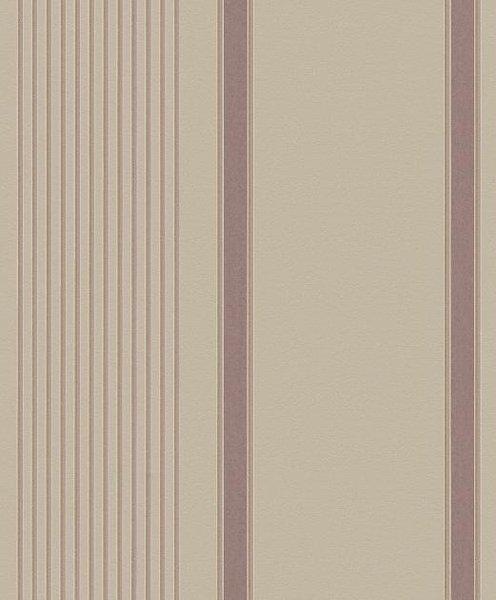 Papel pintado rayas irregulares marr n y dorado fondo for Papel pintado marron y dorado