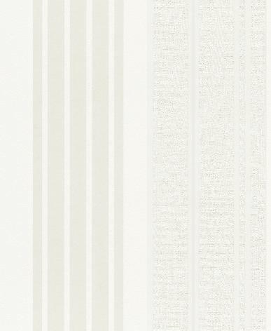 Papel pintado rayas diferentes texturas color blanco - Fabricantes de papel pintado ...