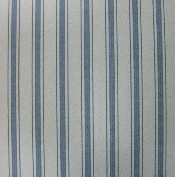 Papel pintado rayas 5 mm azul vaquero y blanco boutique for Papel pintado azul y plata