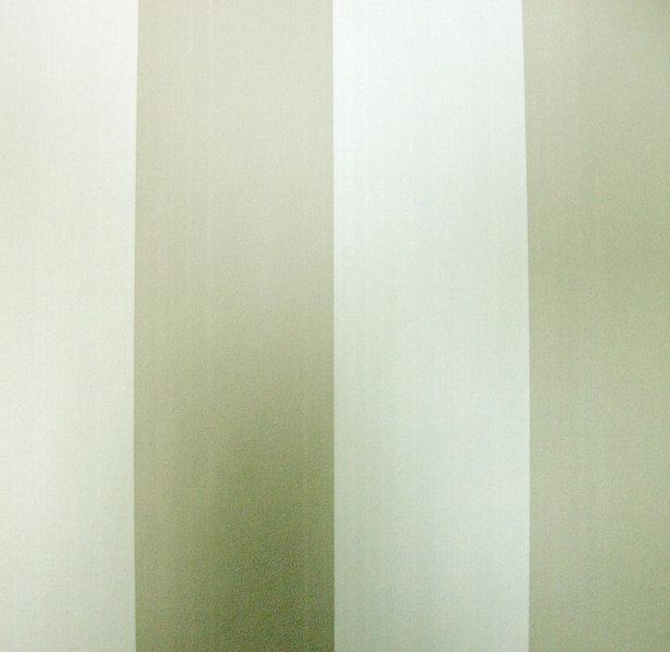 Papel pintado rayas 6 5 cm gris y blanco boutique del - Papel pintado rayas gris y blanco ...