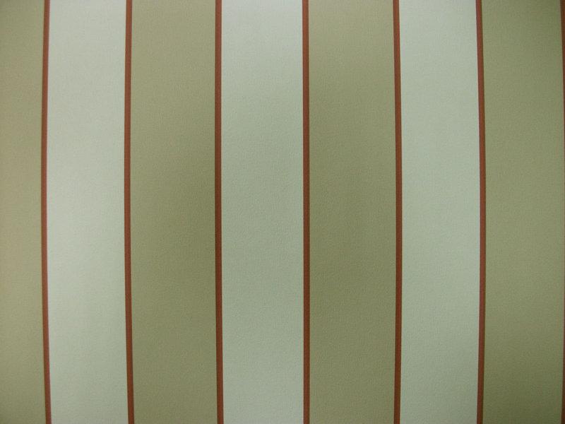 Papel pintado rayas 3 cm tonos beige y rojo boutique for Papel pintado rojo