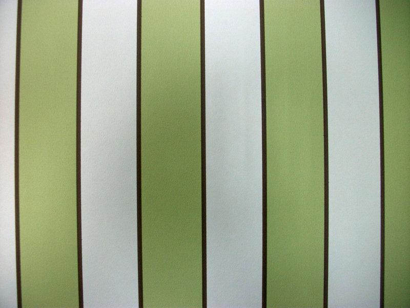 Papel pintado rayas 3 cm verde blanco y marr n for Boutique del papel pintado