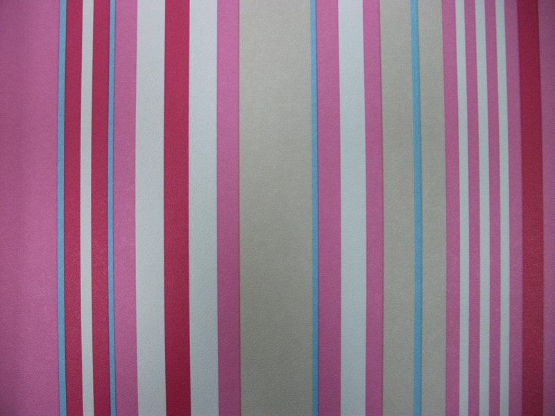 Papel pintado rayas tonos rosas beige azul y blanco for Papel pintado tonos beige