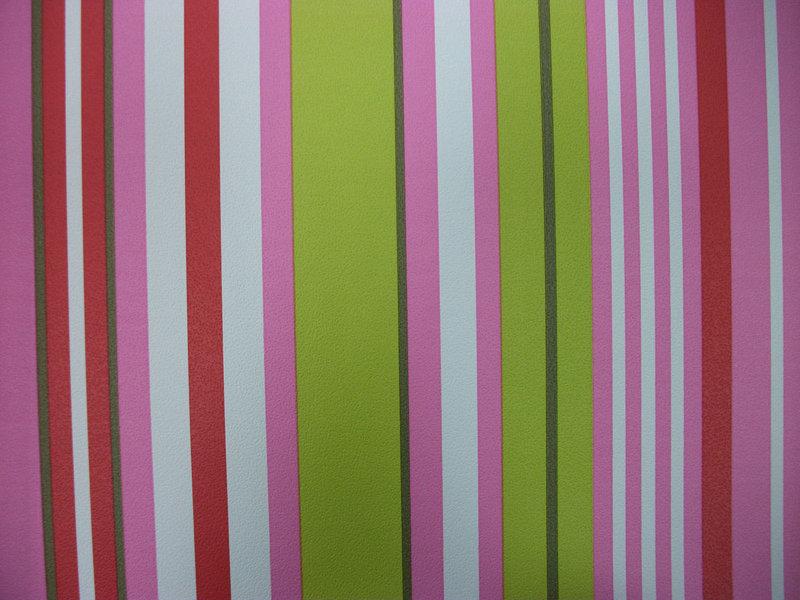 Papel pintado rayas rosas rojas verdes y blancas for Papel pintado rayas verdes