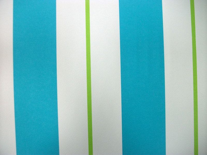 Papel pintado rayas azul blanco y verde boutique del for Papel pintado rayas verdes