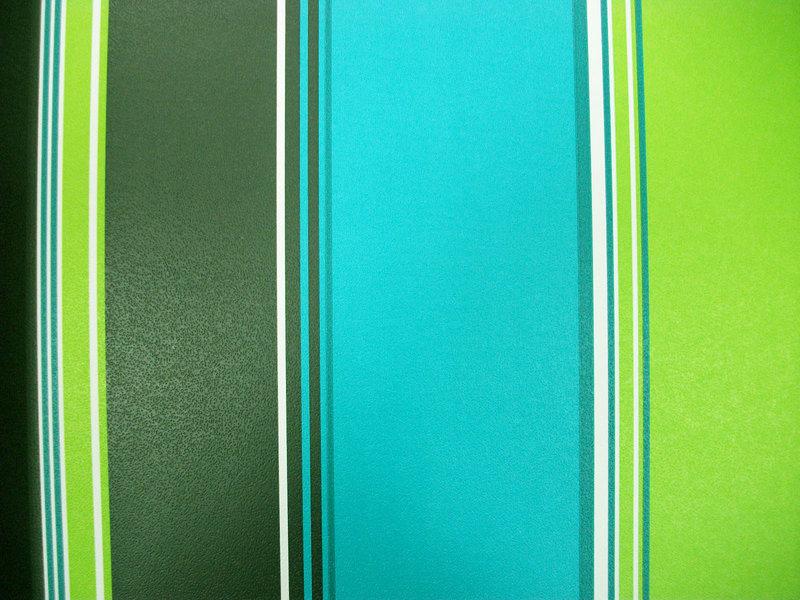 Papel pintado rayas azul verde negro y blanco boutique for Papel pintado azul y plata