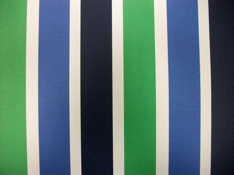 Papel pintado rayas 3 2 cm verde y azules boutique del for Papel pintado rayas verdes
