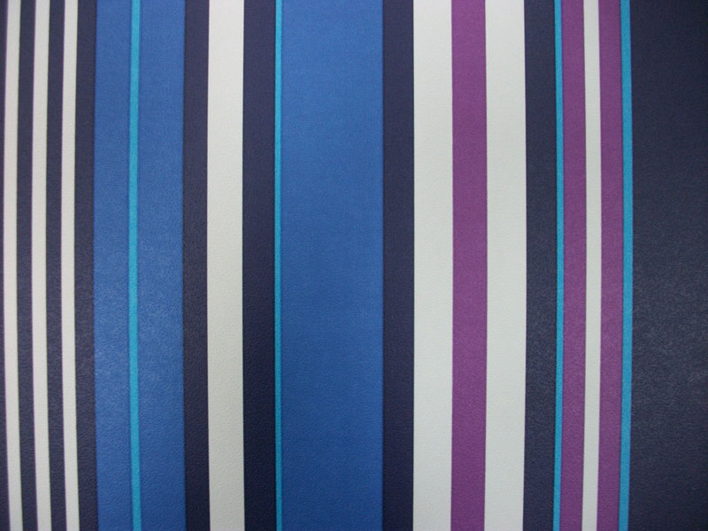 Papel Pintado Rayas Tonos Morados Azules Y Blanco