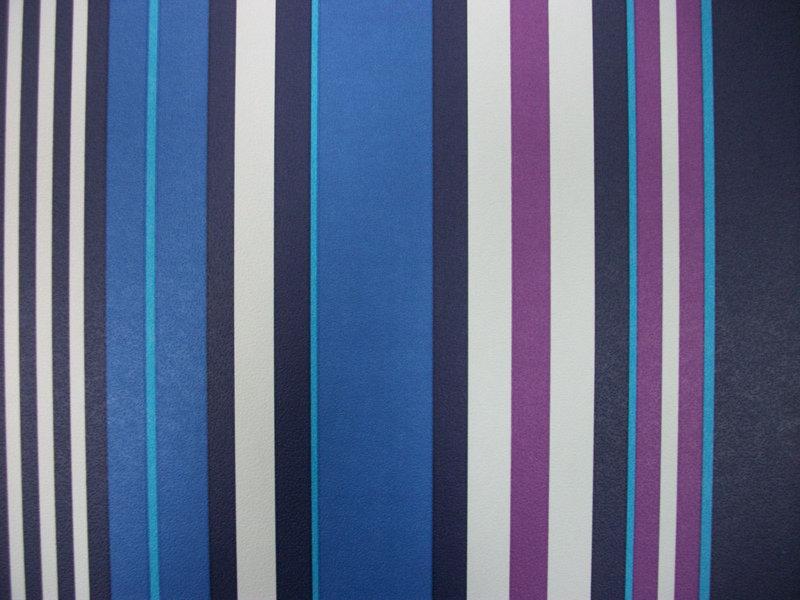 Papel pintado morado papel pintado rayas multicolor - Papel pintado blanco y plata ...