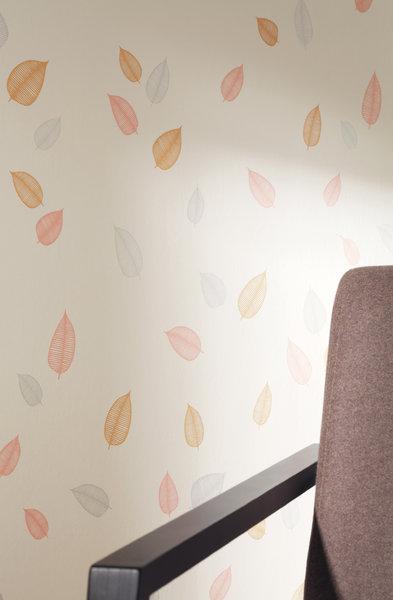 Papel pintado hojas tonos malva boutique del papel pintado for Boutique del papel pintado