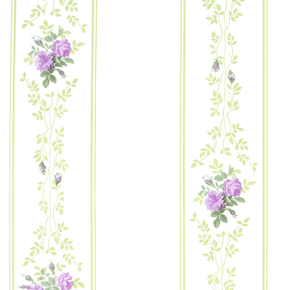 Papel pintado floral turner morado boutique del papel for Boutique del papel pintado