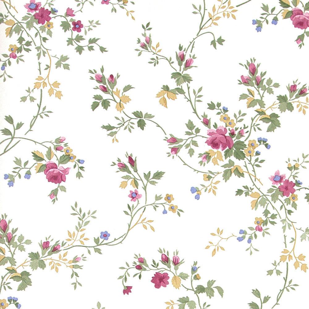 Papel pintado floral shelley fondo sepia boutique del for Boutique del papel pintado