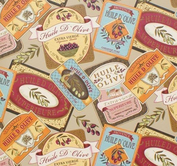 Papel pintado etiquetas aceite boutique del papel pintado for Boutique del papel pintado