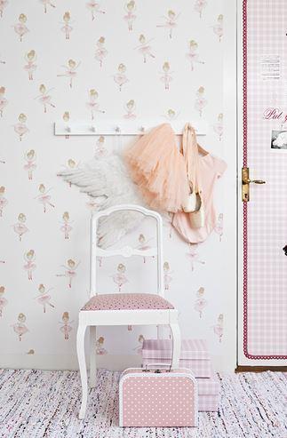 Papel pintado bailarinas boutique del papel pintado for Boutique del papel pintado