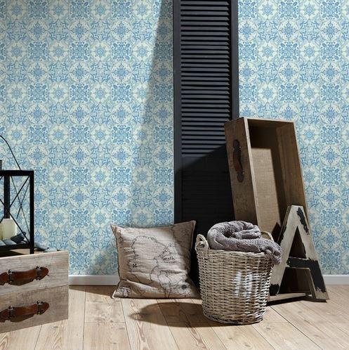 Papel pintado azulejo boutique del papel pintado for Boutique del papel pintado