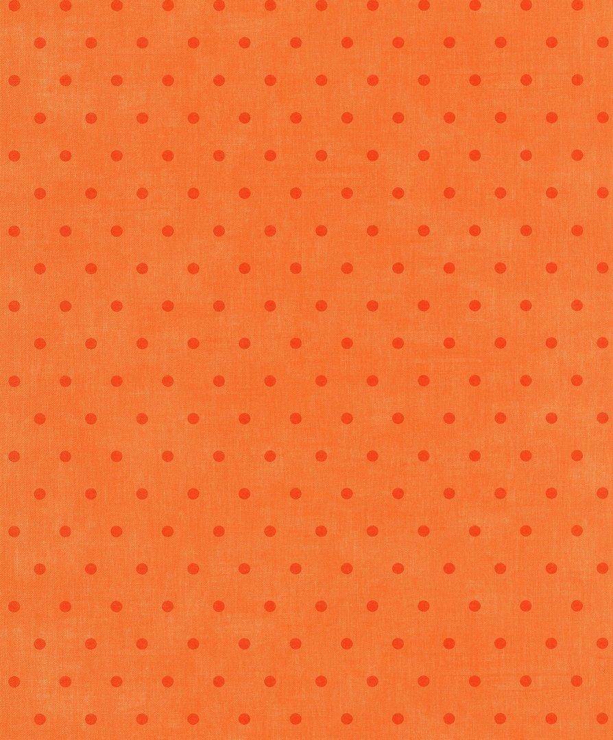 Papel pintado cocina lunares naranja boutique del papel for Papel pintado lunares