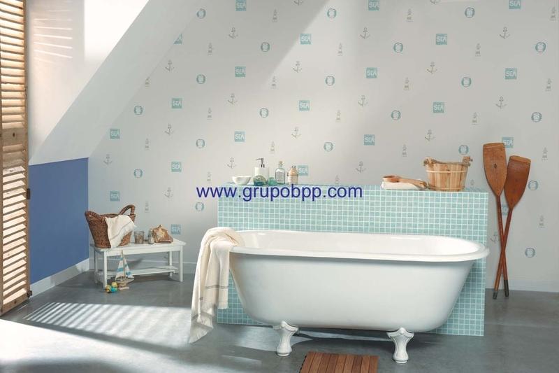Papeles para cocina beautiful with papeles para cocina - Empapelar sobre azulejos ...